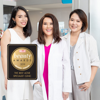 The Best Acne Specialist Clinic 2019 โดย นิตยสาร HELLO