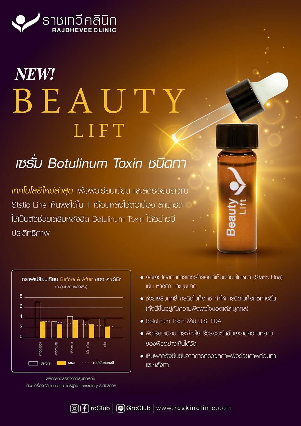 Beauty Lift Botox Product